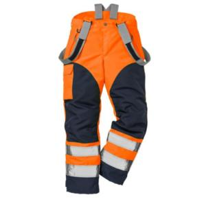 2153 Orange Navy Airtech Trousers