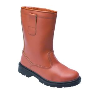 2413 Brown S1P Lined Rigger Boot