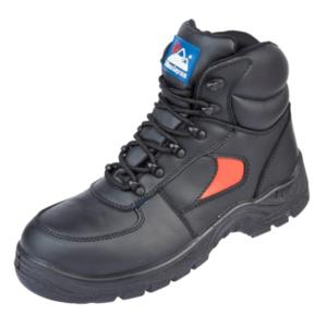 3414 Unisex Black and red safety Boot