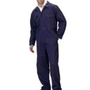 707-T/C-NAVY Polyester Cotton Boilersuit