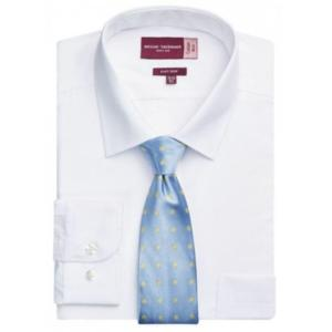 7539A White Rapino Classic Fit Shirt