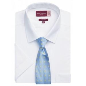 7541A WHITE Rossello Classic Fit Shirt