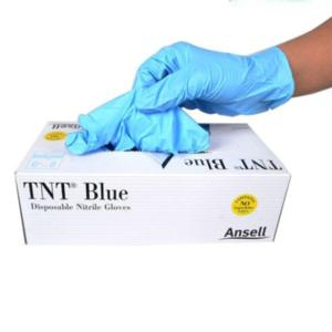 92-670 Blue TNT Nitrile Powder Free Gloves