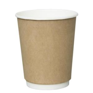 S-8OZ VIP CUP Brown Double wall Cafe Cup