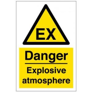 S-DSEAR Explosive atmosphere Sign
