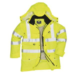S427 High-Visibility 7 in 1 Traffic Jacket