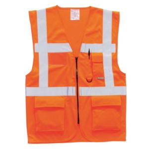 S476 Orange High-Visibility Executive Vest