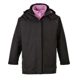 S571 BLACK Elgin Ladies Jacket