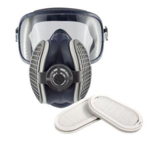 S-SPR406/7 P3 half mask with goggles attached
