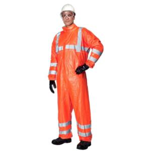 500HV High-Visibility Collared Coverall