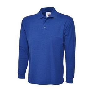 UC113 ROYAL Long-Sleeved Polo Shirt